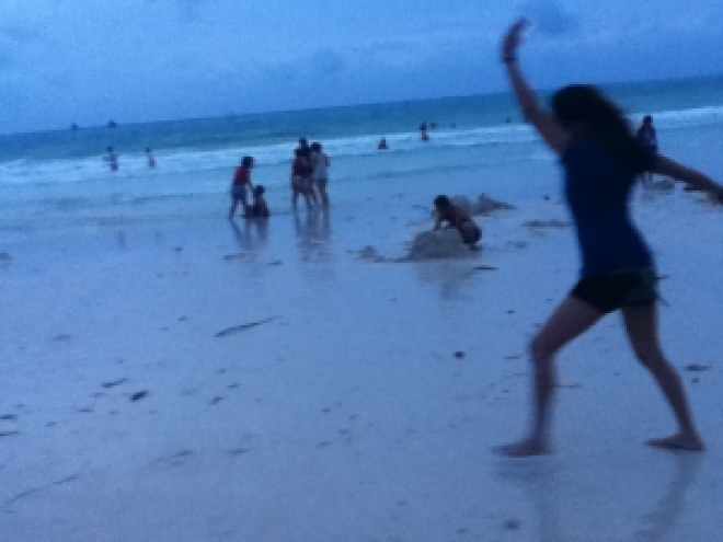 My First Time in Boracay