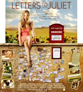 Letters to Juliet starring my favorite actress - Amanda Seyfried