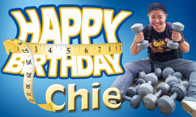 Chie's Birthday Tarp