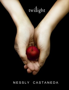 my own version of twilight book cover