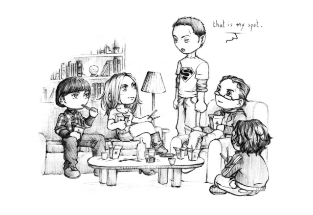 The_Big_Bang_Theory_by_nami86
