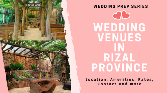 Wedding Venues in Rizal Province (www.tribobot.com)