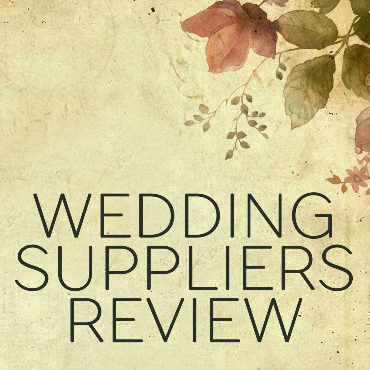 Wedding Suppliers Review