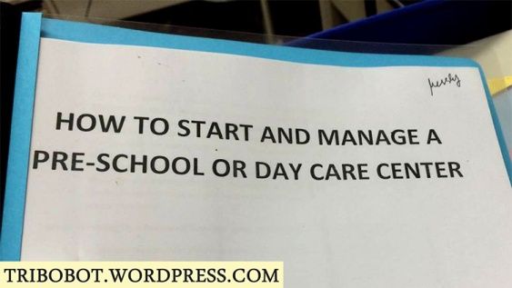 Our BusinessCoach, Inc. Experience: How To Start Your Own Preschool Seminar