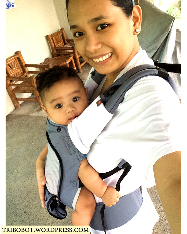 Babywearing: My Love & Carry Air SSC Review