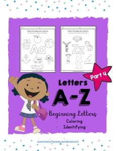 04 Color Beginning Letters