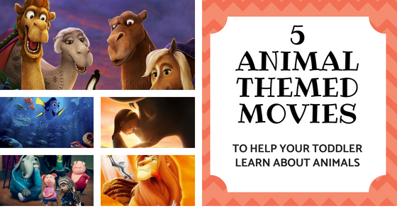 5 Animal Themed Movies to Help Your Toddler Learn About Animals (www.tribobot.com)