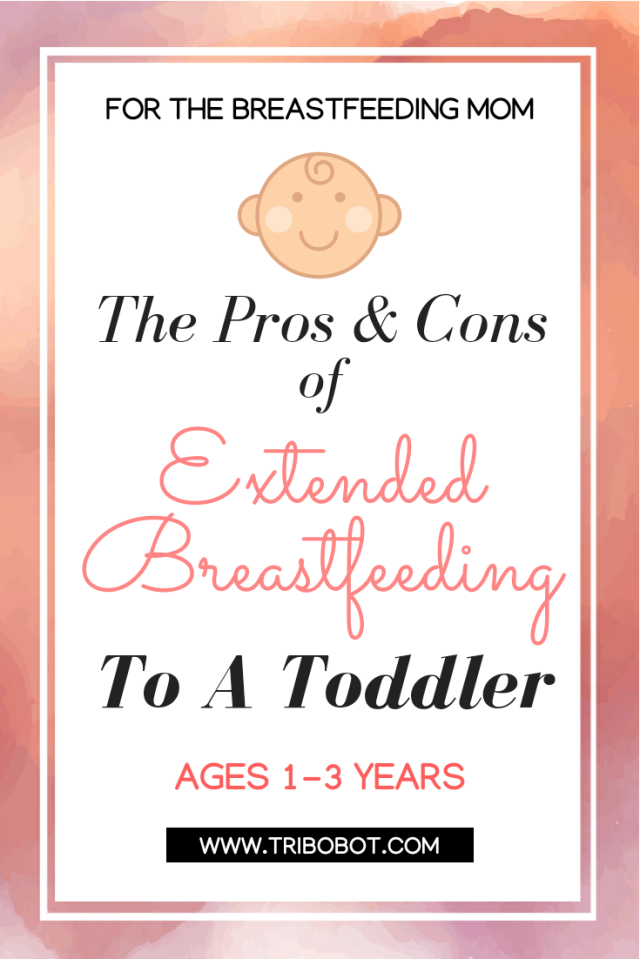 Pros and Cons of Extended Breastfeeding A Toddler (www.tribobot.com)