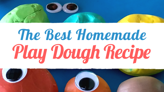 The Best Homemade Play Dough Recipe